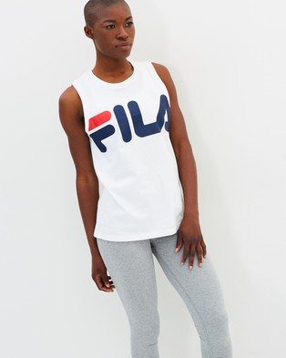 Fila – Graphic Tank – Muscle Tops (White)