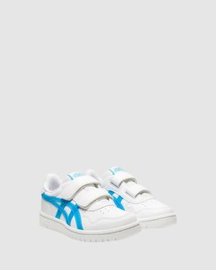 ASICS Japan Pre School - Sneakers (White/Aquarium)