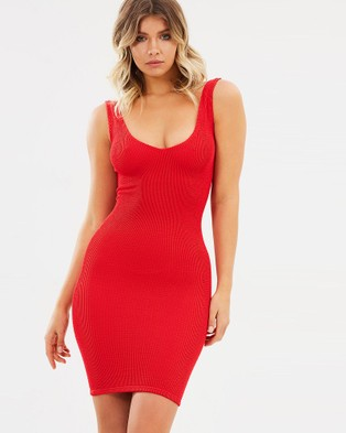 Bond-Eye Swimwear – The Harper Dress – Bodycon Dresses Baywatch Red