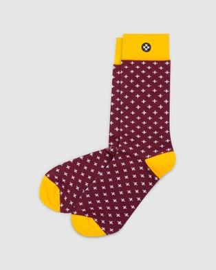 Sockdaily Happening 6 Pack Crew Socks - Underwear & Socks (Multi)