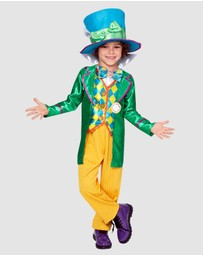 Rubie's Deerfield - Mad Hatters Deluxe Costume - Kids