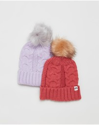 Cotton On Kids - Winter Beanies 2-Pack - Kids