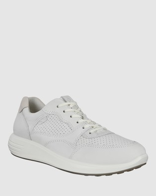 ECCO Soft 7 Runner Women's Sneakers - Lifestyle Sneakers (White)