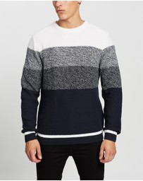 Staple Superior - Infusion Crew Knit Jumper