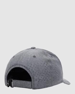 Quiksilver Mens Adapted Flexfit Cap - Headwear (Tarmac)