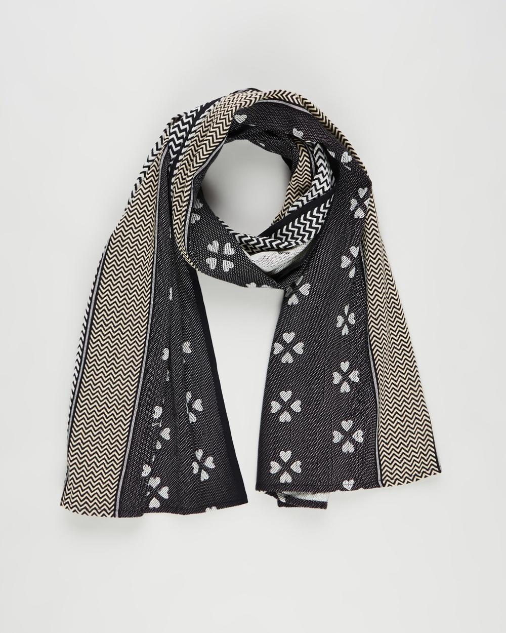 Cecilie Copenhagen Leah Scarf Scarves & Gloves Black