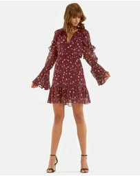Addison Print Dress