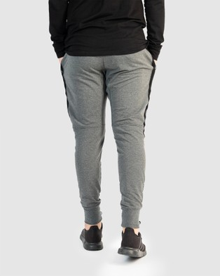 Muscle Republic Prime Trackpants - Track Pants (Charcoal)
