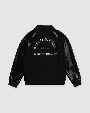 Karl Lagerfeld Cardigan   Kids Teens - Coats & Jackets (Black)