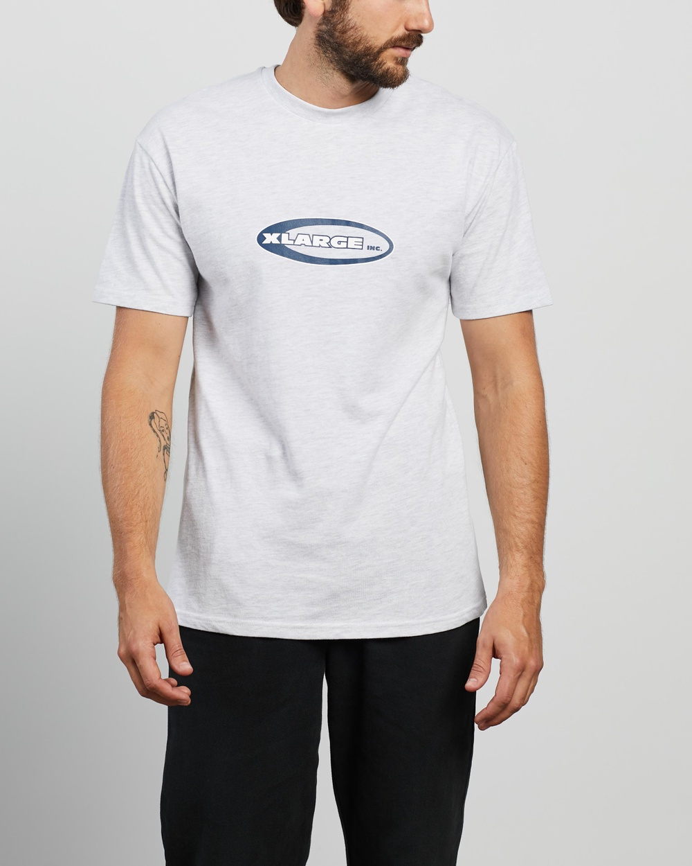 X-Large - Oval SS Tee - T-Shirts & Singlets (Snow Marle) Oval SS Tee