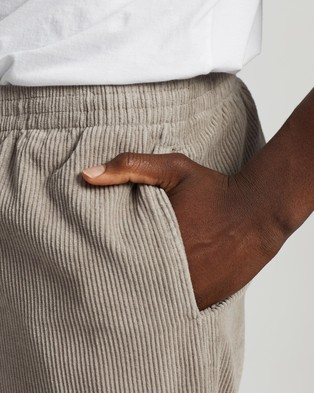 Stussy Jackson Cord Beachpants - Pants (Grey)
