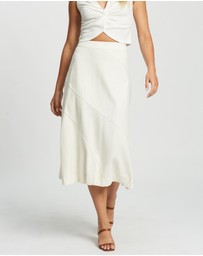 Atmos&Here - Catherine Cotton Slip Skirt