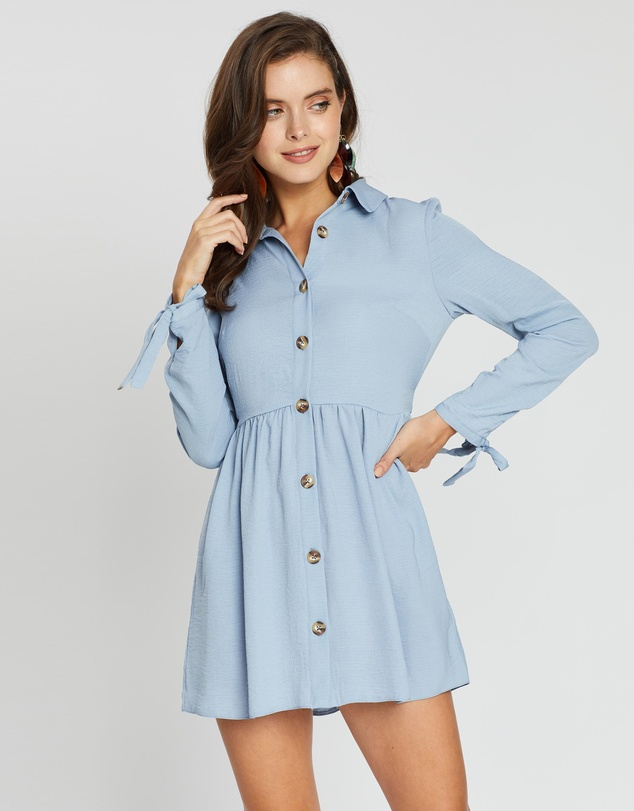 Miss Selfridge Petite - Plain Shirt Dress