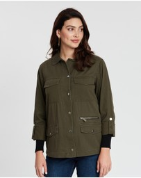 Dorothy Perkins - Zip Detail Shacket