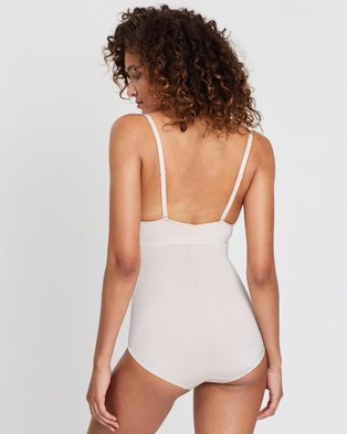 Marks & Spencer Bralette Cup Bodysuit - Underwear & Sleepwear (Almond)