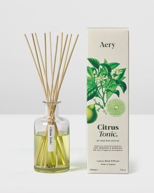 Aery Living Botanical 200ml Reed Diffuser Diffusers Neutrals