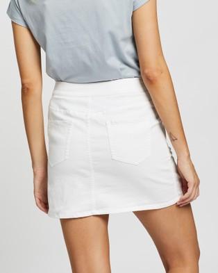 Rusty Suncity Skirt - Denim skirts (White)