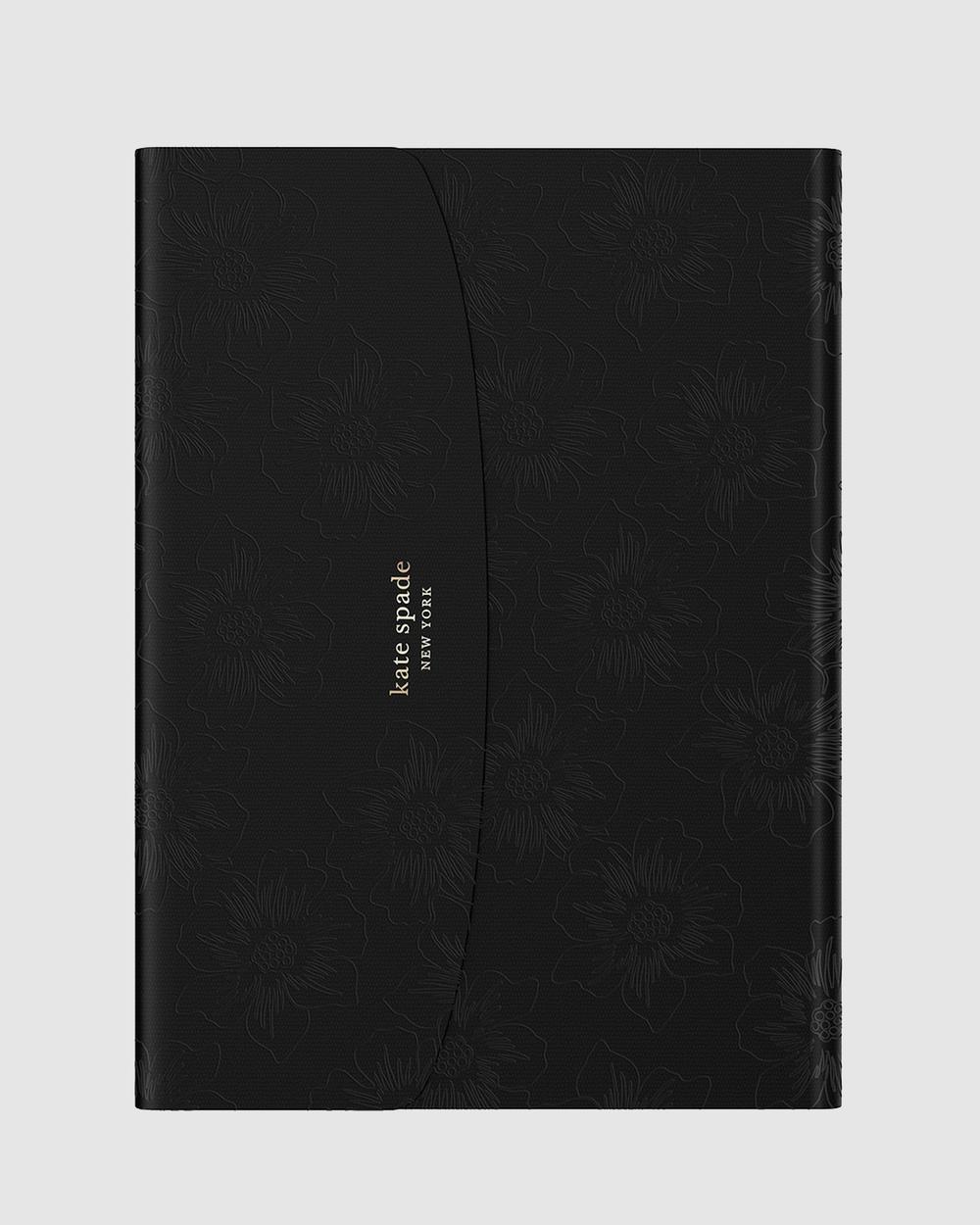 Kate Spade iPad 10.2 inch Envelope Folio Tech Accessories Black Australia