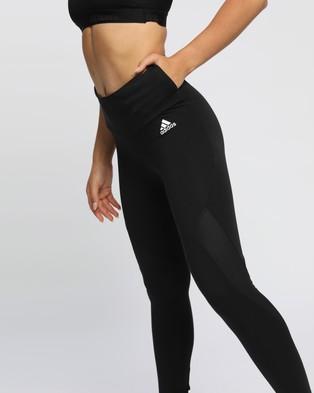 adidas Performance Sportswear Cotton Leggings - Full Tights (Black)