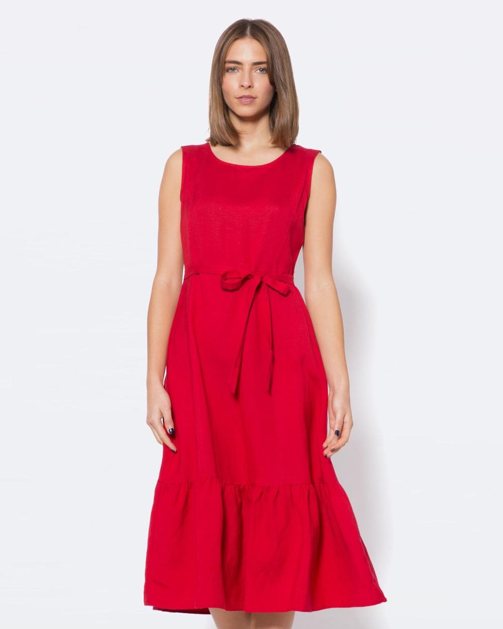 Princess Highway Annalise Dress Dresses Red Annalise Dress