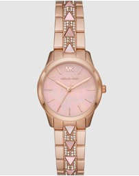 Michael Kors - Runway Mercer Two Tone Analogue Watch MK6856