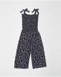 Eve's Sister - Daydreams Floral Playsuit - Kids