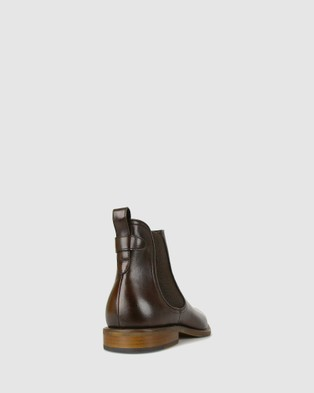 Airflex Jeffery Leather Chelsea Boots - Boots (Chocolate)