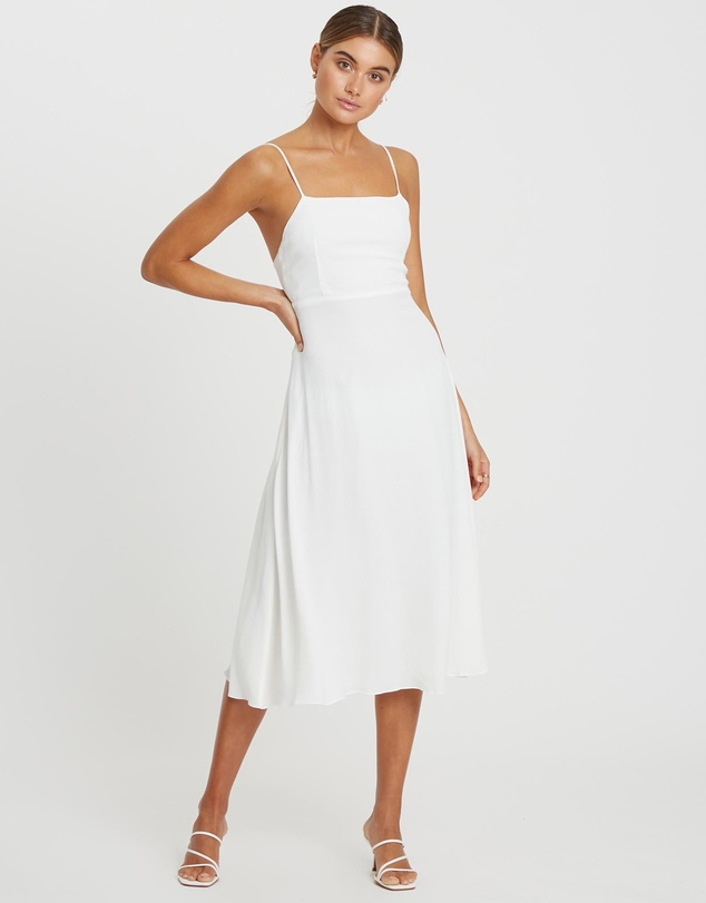 Damsel + Silk - Core Full Midi Dress