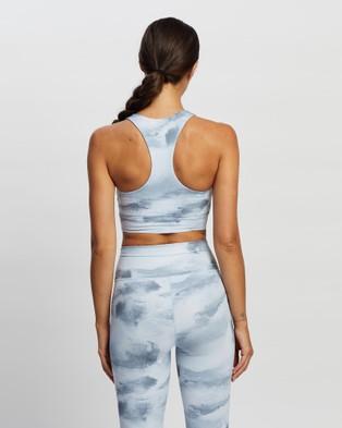 All Fenix Aryah Sports Bra - Crop Tops (Charcoal & White)