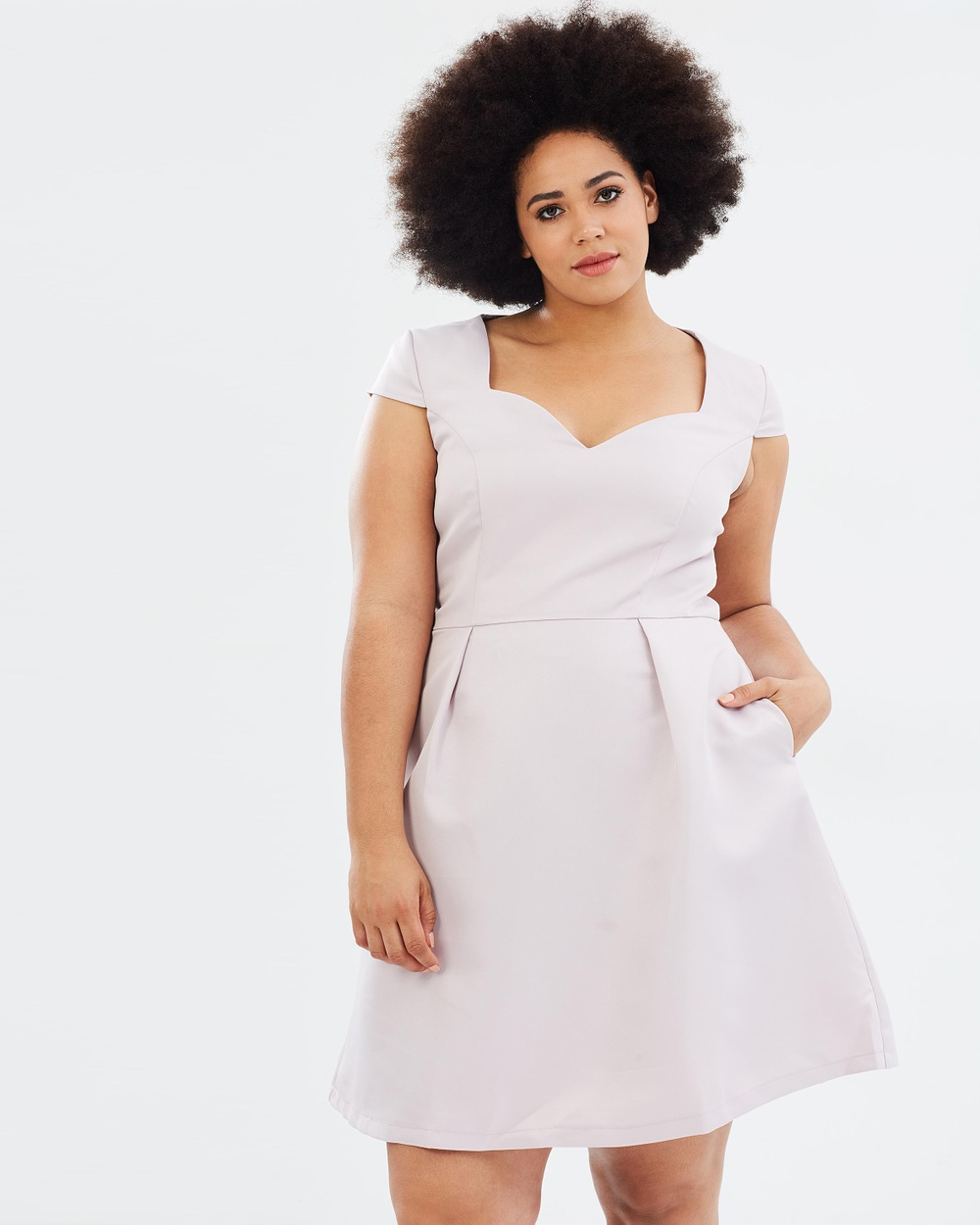 Chi Chi Curve Acacia Dress Dresses Lilac Acacia Dress