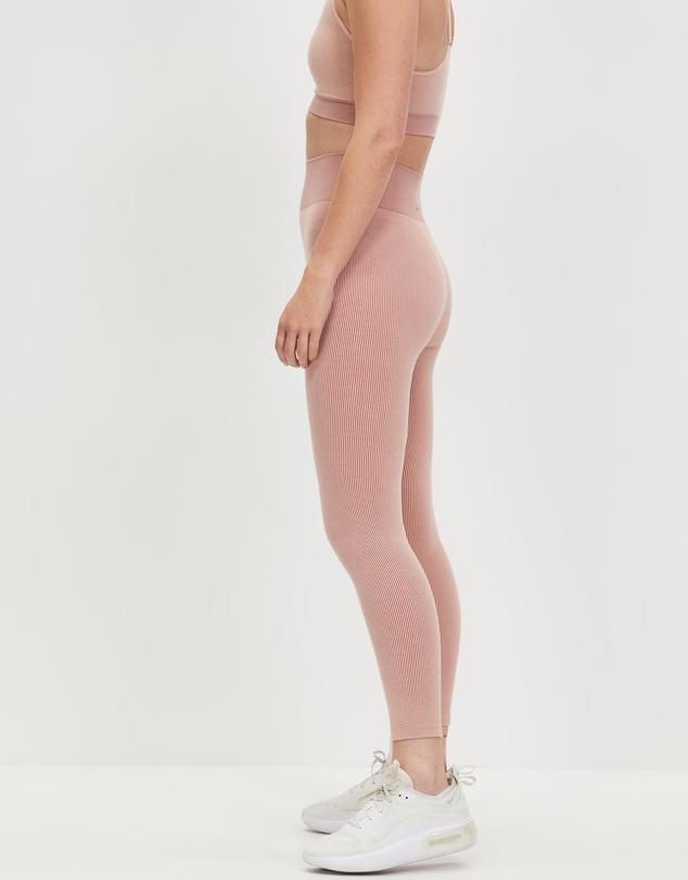 Women Circular Knit Midi Pants