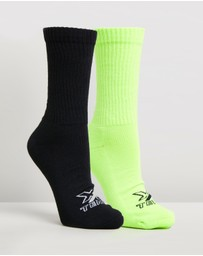 Bonds - X-Temp 2-Pack Crew Socks