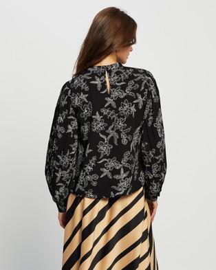 Vero Moda Filip LS Top - Tops (Black)