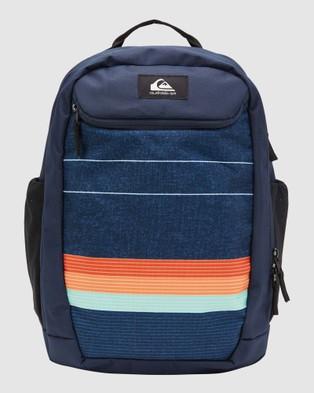 Quiksilver Schoolie 30L Large Backpack - Backpacks (True Blue)