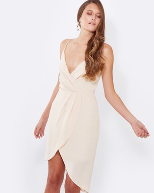 Tussah – Virginia Cocktail Dress Nude