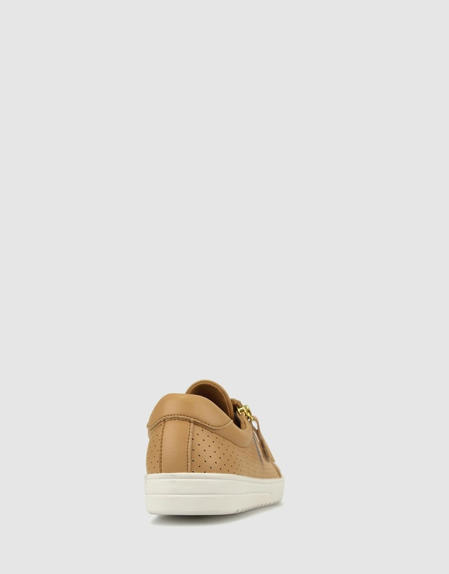 Women Elsa Side Zip Sneakers