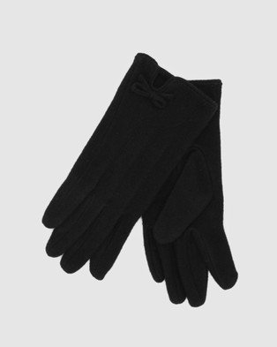 Morgan & Taylor Valentina Gloves - Scarves & Gloves (Black)