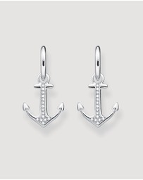 THOMAS SABO - Love Anchor Hoop Earrings