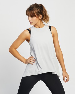 Lilybod Kendall Tank - Muscle Tops (Light Grey)