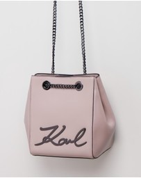 Karl Lagerfeld - K/Signature Bucket Bag