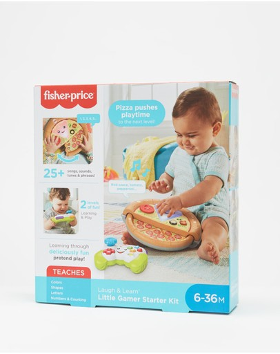 Fisher Price - Laugh & Learn Game & Pizza Party Gift Set