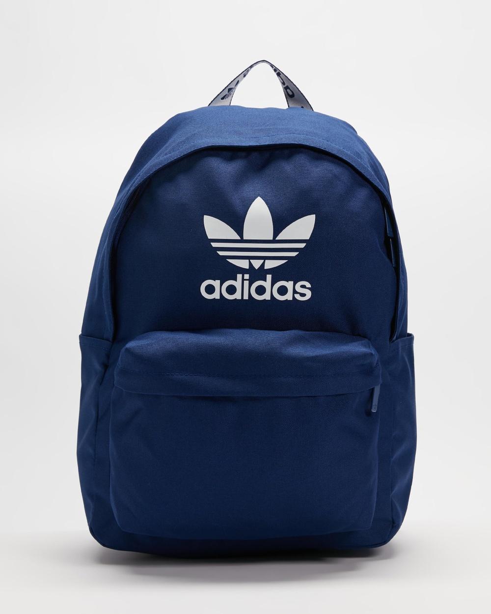 adidas Originals Adicolor Backpack Backpacks Victory Blue & White