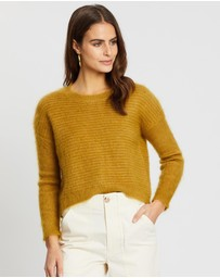 Jag - Lily Cropped Mohair Knit