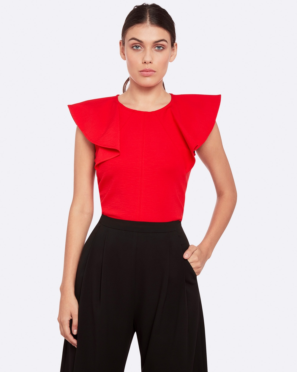 Oxford LUKITA PONTI TOP Tops Red LUKITA PONTI TOP