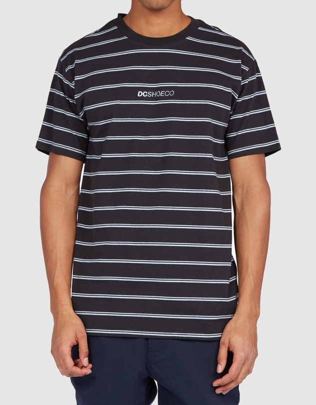 DC Shoes - Mens Mixer Stripe T Shirt