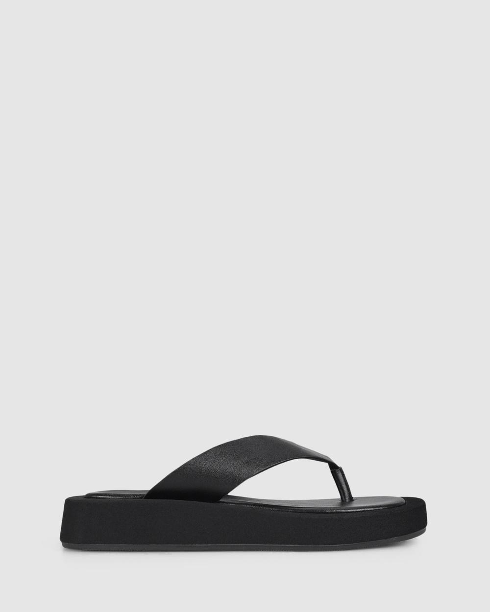Verali Bouncer Thongs Black