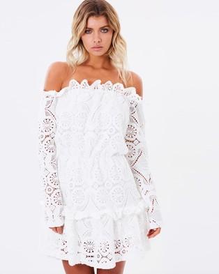 Mossman – The Spanish Girl Dress – Dresses (White)