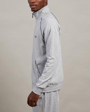 BOSS Mix&Match Jacket - Jumpers (Light Pastel Grey)