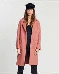 Miss Selfridge - Patch Pocket Midi Coat
