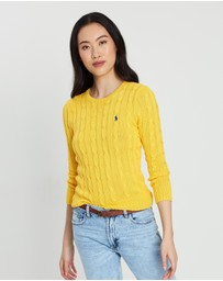 Polo Ralph Lauren - Julianna Cable Crew Neck Sweater